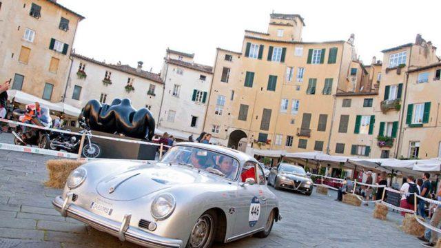 La 1000 Miglia torna a Lucca